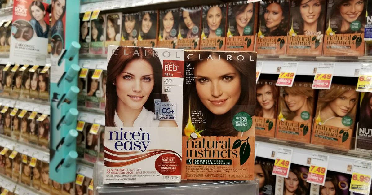 clairol natural instincts coupons